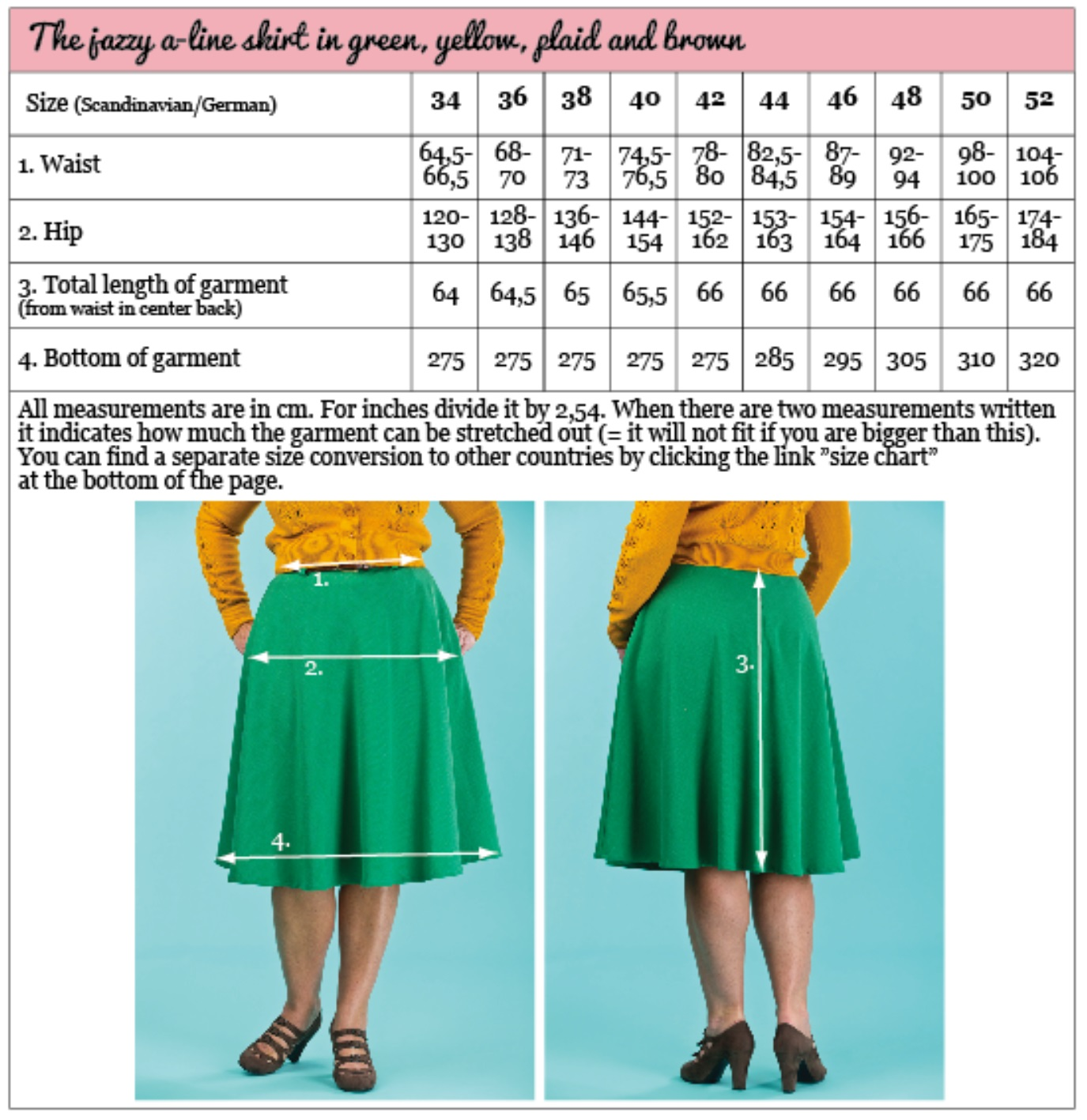 the jazzy aline skirt forest green weave