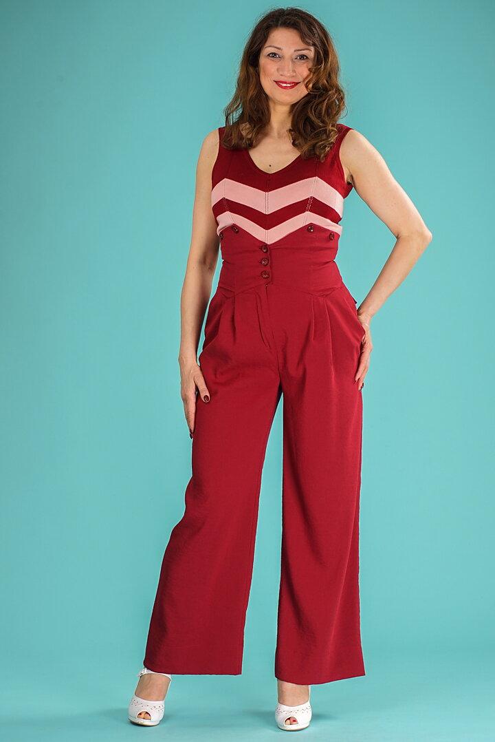 e994593ec54d emmy design - the miss fancy pants slacks. berry