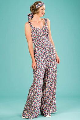 cb1d10eaafc3 the Biarritz beach pajamas. bright floral print