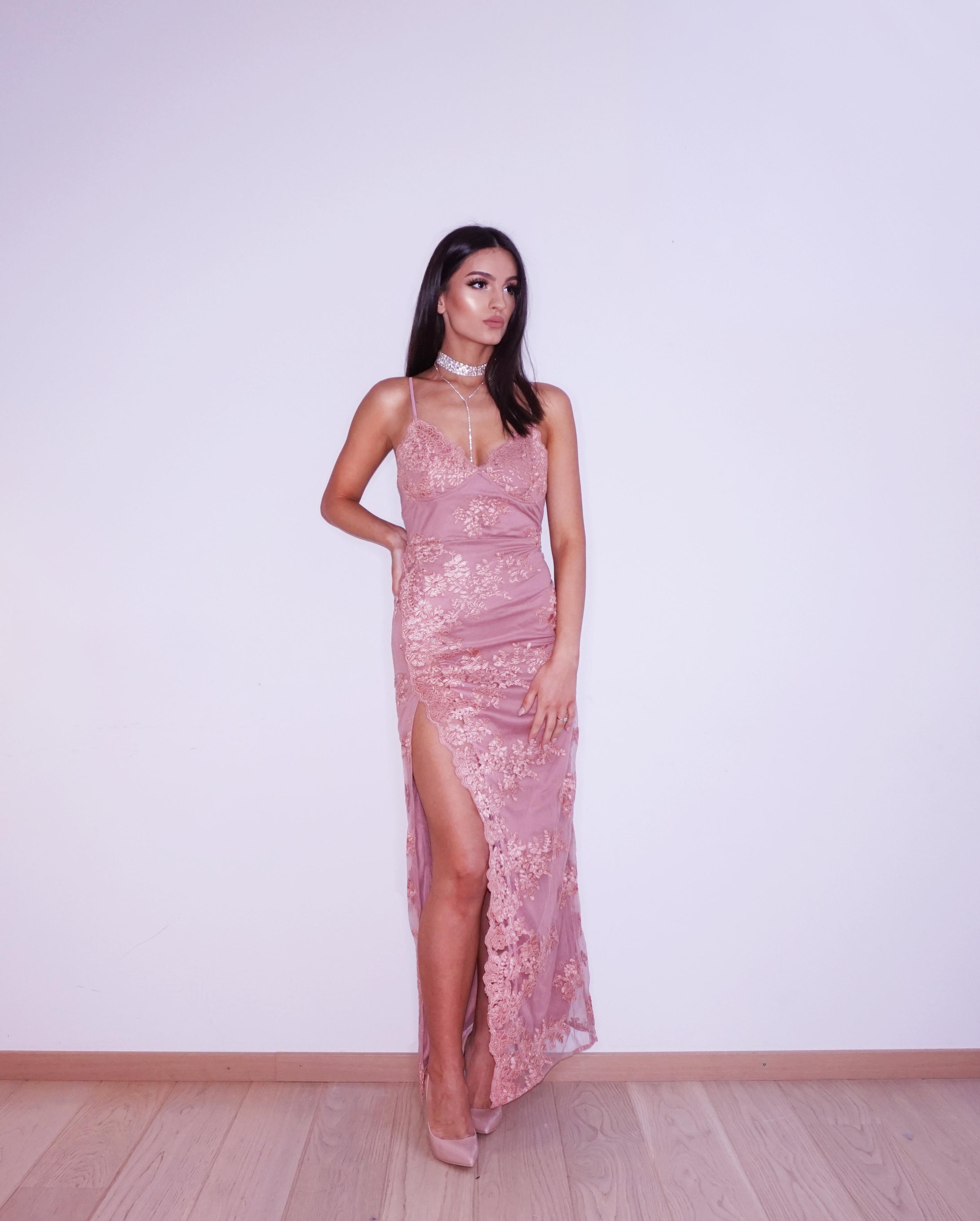 e53e5239ee8 A Night In Tokyo Lace Dress - Mauve - FashionNova - Dresses - Your Vanity