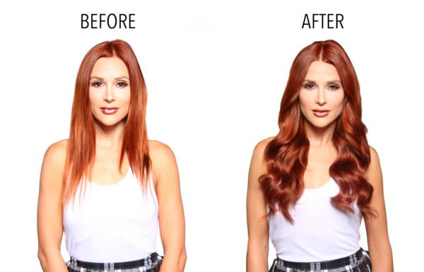 Piccolina 120g Vibrant Red - Bellami Hair - Extensions - Your Vanity 3443fdd2c6