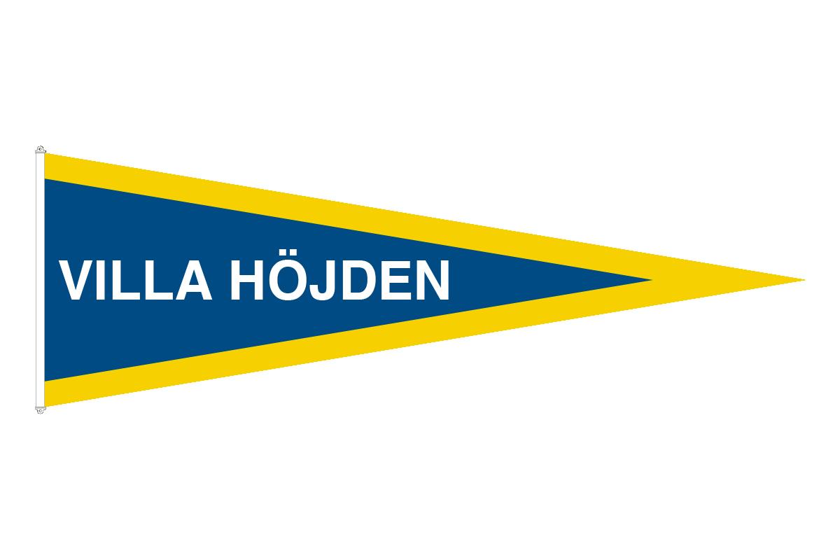 Namnstandert - Namn Vimpel - Flaggfabriken National : flaggstång längd : Inredning