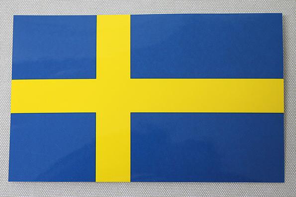stickers svenska flaggan
