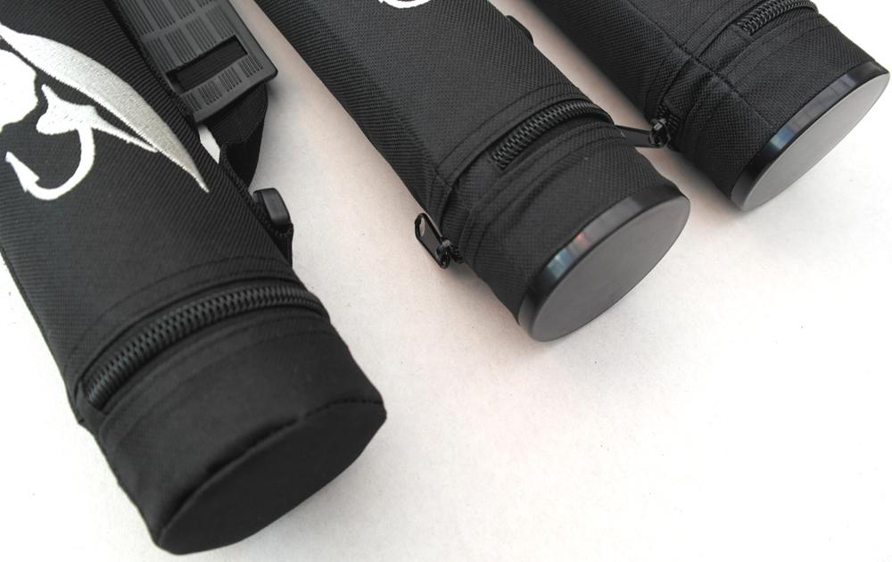 Stora svarta tuber