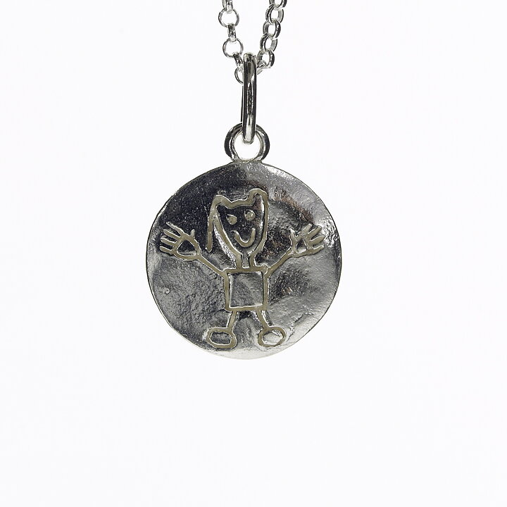 Barnhalsband - streckpojke - silver - Kalas bec117d1b53eb