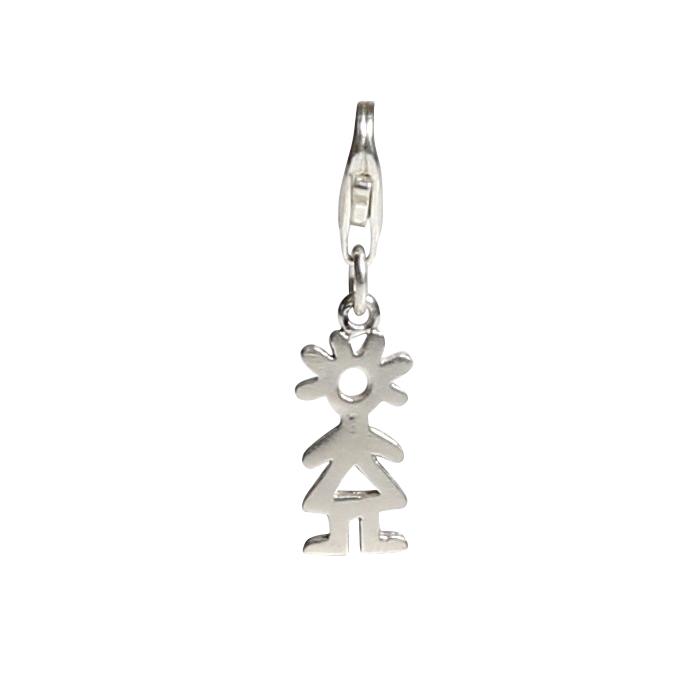 Berlock - charm - silver - streckflicka - Kalas ef42e3fae3ab5
