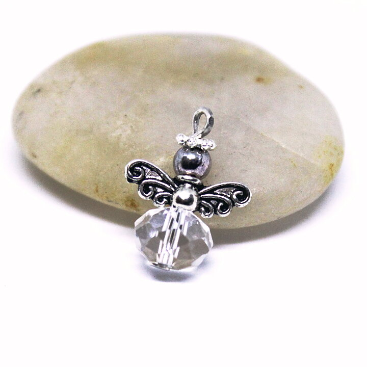 Paulinas Smycken - Ängel mini i kristall 6205a5a2fe1f3
