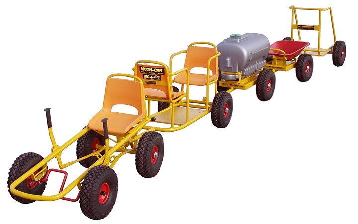 Oprindeligt Moon Car med punkterfri dæk - Danske Naturlegepladser JC78