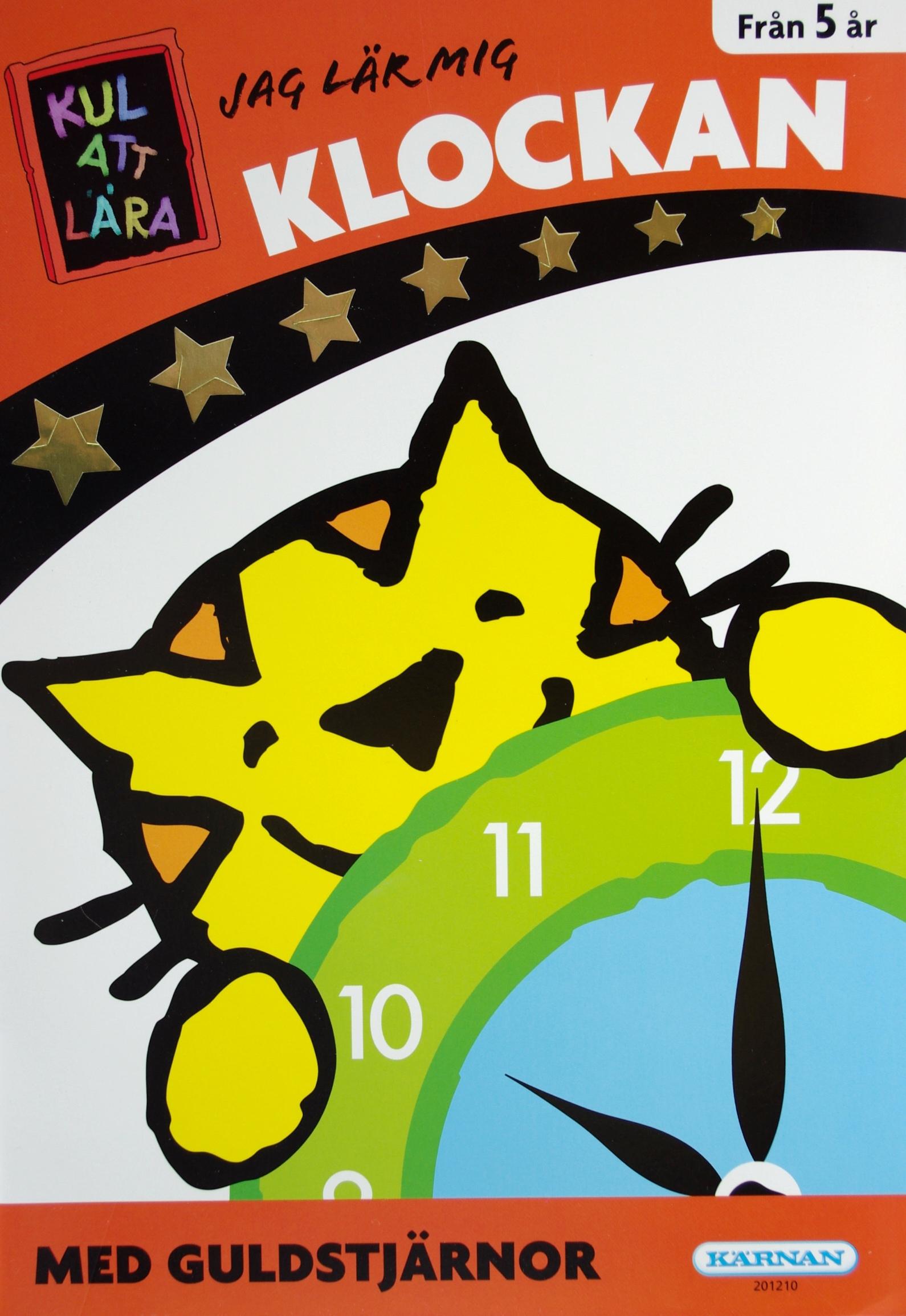 jag lär mig klockan