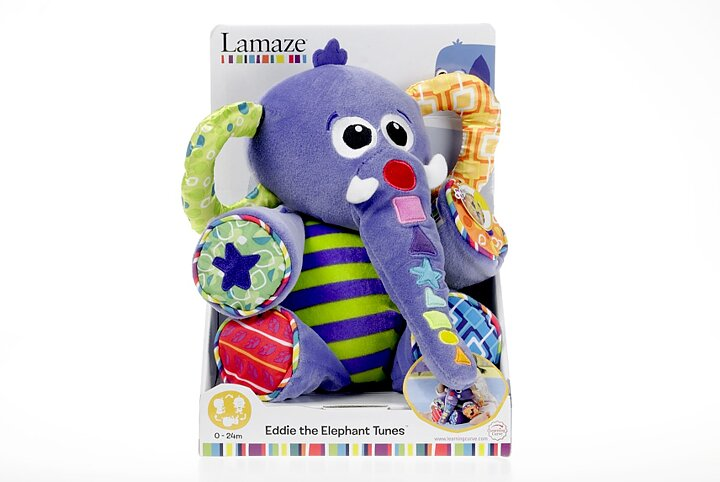 Mjuk Elefant med musik. Eddie The Elephant Tunes - Billiga leksaker ... 6ffc58ff3b3f8