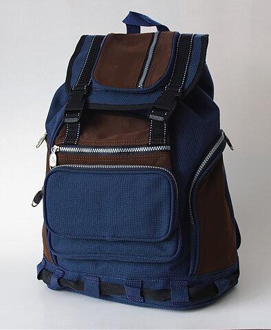 Ryggsäck Väska blå-brun 3826ba778a8fc