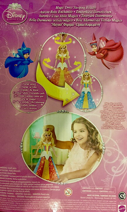 Disney Princess Magic Dress Sleeping Beauty - Billiga leksaker ... cdd246ed2fb27