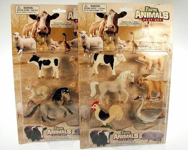 Lekset bondgårdens djur - Billiga leksaker online - LekOutlet 31fedc73eb371