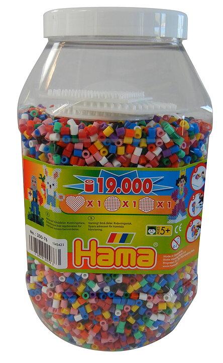 Hama Pärlor 19000 st. - Billiga leksaker online - LekOutlet 77c684eda7e5b