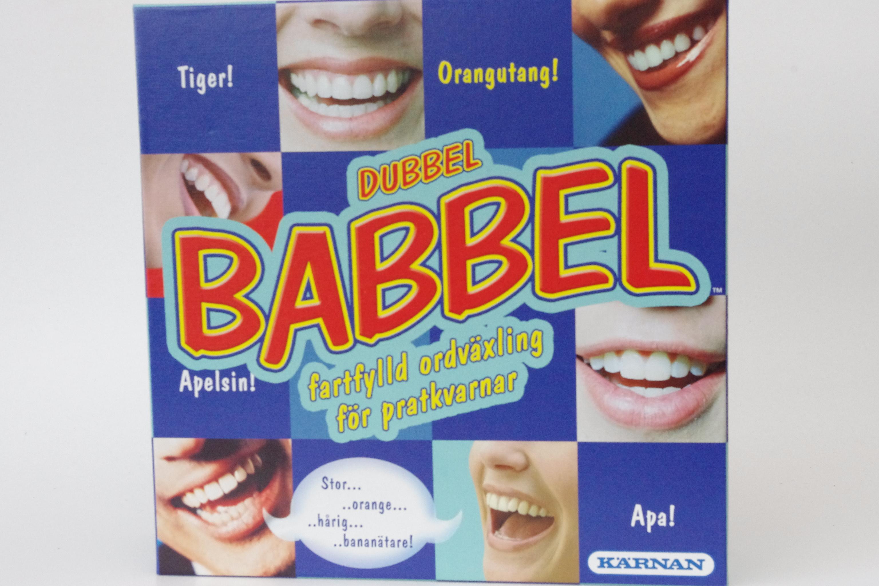 Dubbel Babbel från Kärnan. - Billiga leksaker online - LekOutlet dd93f41d119ad