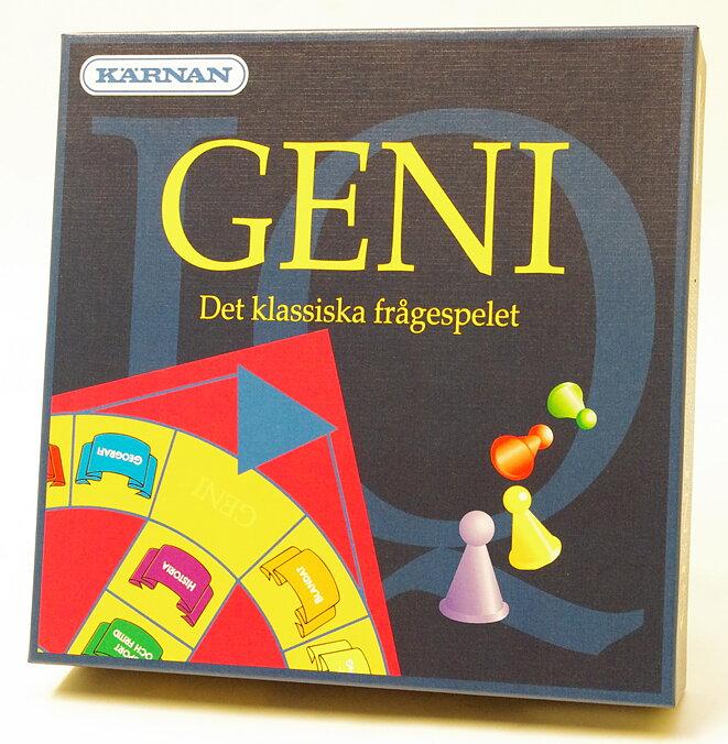 Geni - Det klassiska frågespelet - Kärnan - Billiga leksaker online ... 396a5ee15bb8b