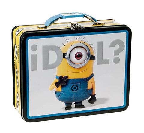 Plåtväska Väska i riktig plåt Minions (Tin Box) bc15d4ac75213