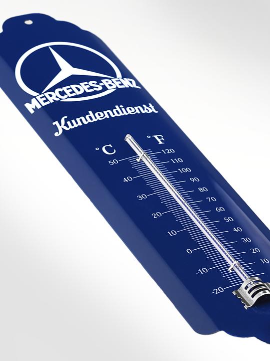 Ckm Car Design Thermometer Mercedes Benz Kundendienst