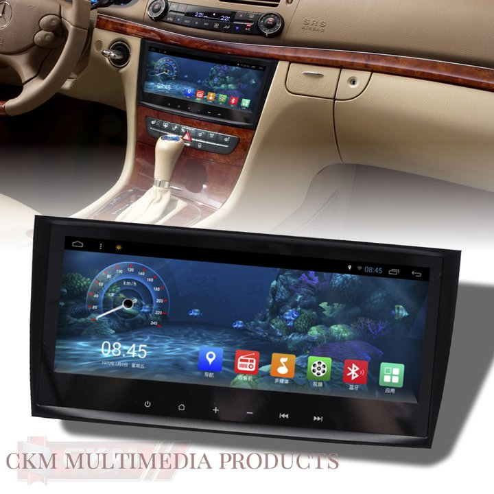 ckm car design c2 w211 w219 comand 9 android navi. Black Bedroom Furniture Sets. Home Design Ideas