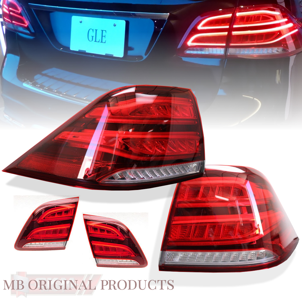 Car Tail Lights >> 1 Full Led Facelift Tail Lights W166 4pcs Adapterkit