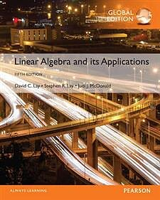 Afbeeldingsresultaat voor linear algebra and its applications 6th edition