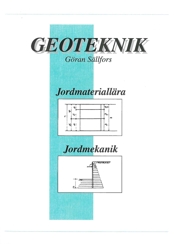 STORE by Chalmers Studentkår - Geoteknik – Jordmateriallära (huvudbok) 72e73ff8cfbd7