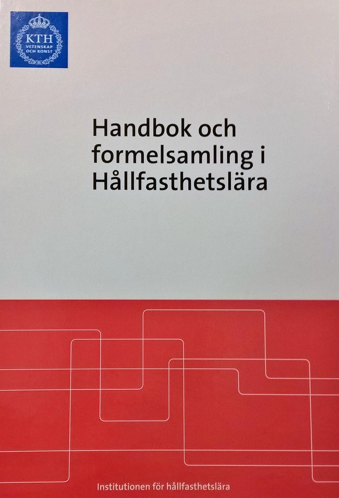 handbok och formelsamling i hållfasthetslära kth
