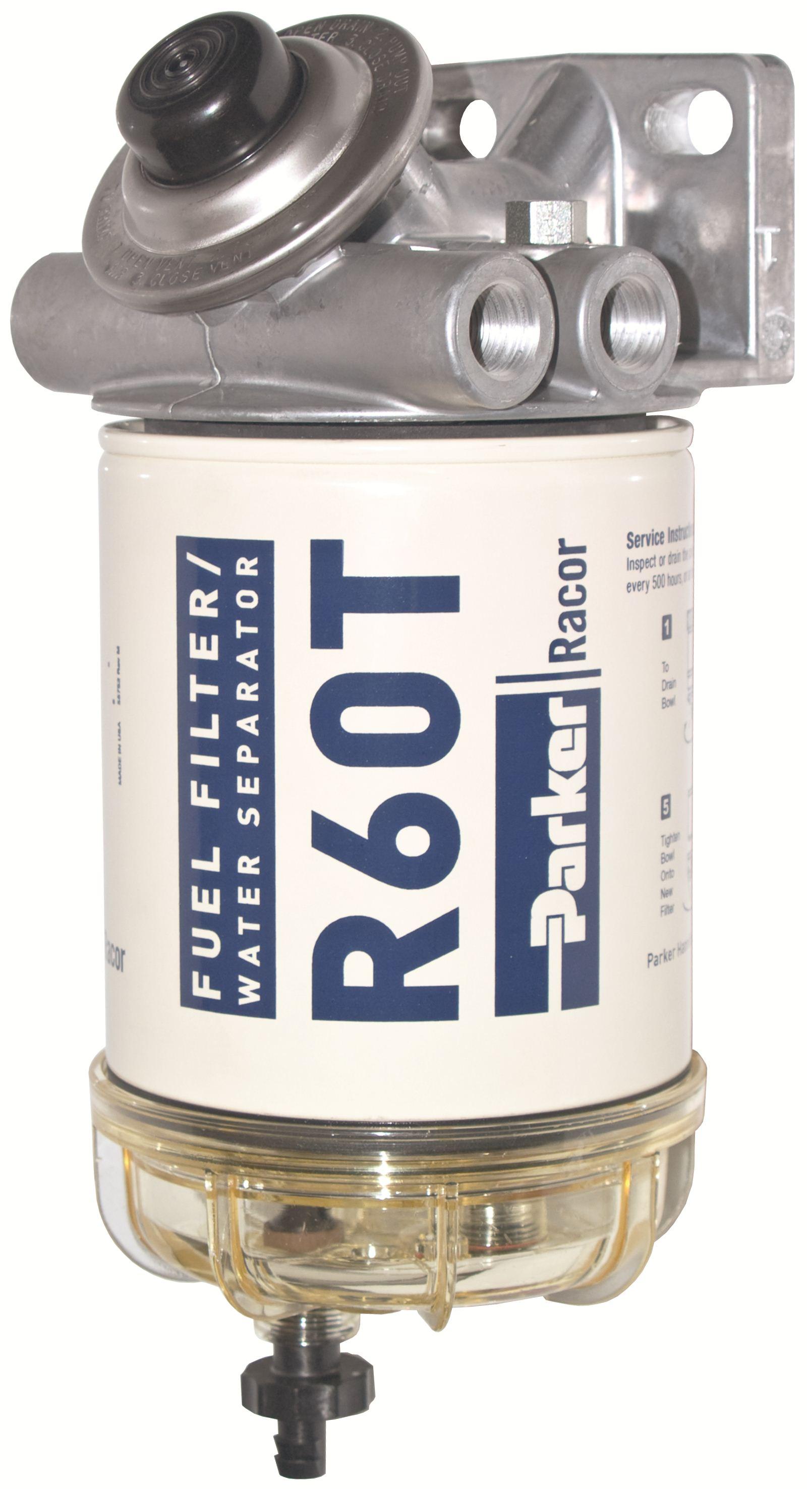 Diesel Power Webshop Racor Fuel Filter 0 227 L H Parker Filters