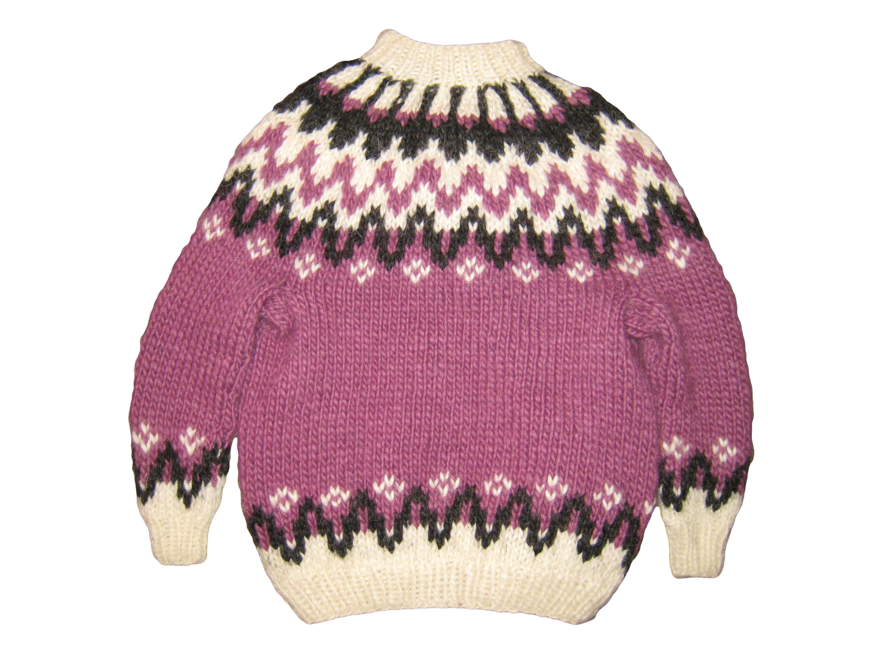 Knitting Kids Sweater : Islina garn och design yarn and pattern