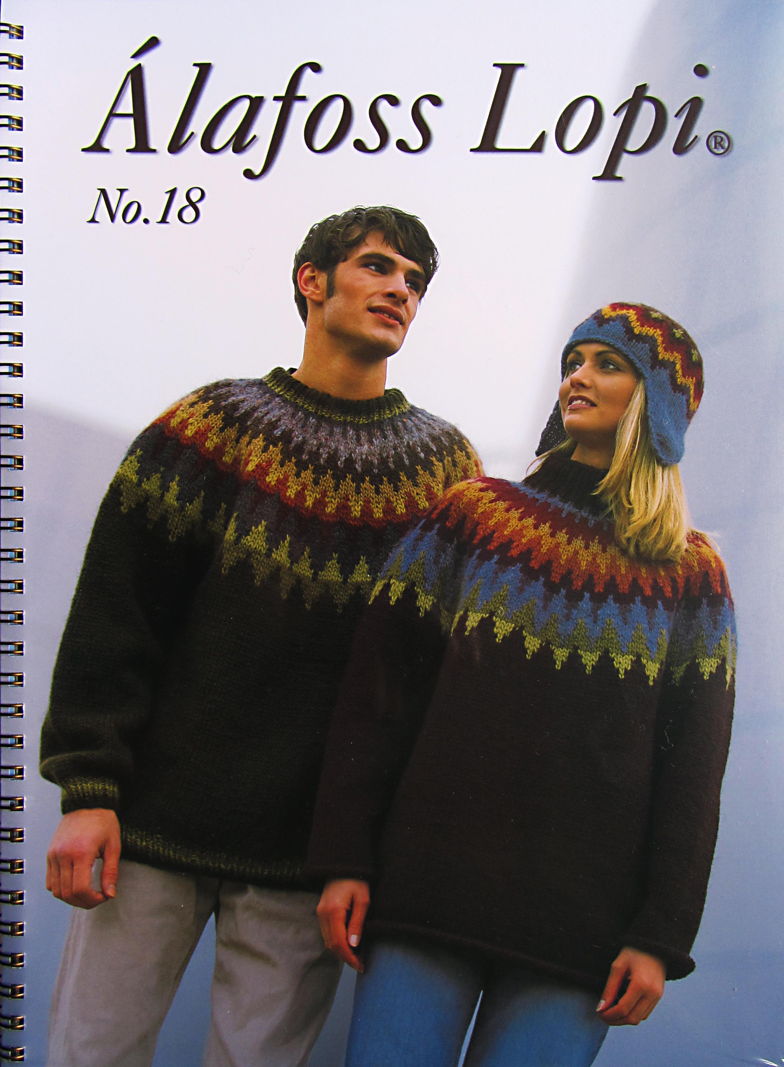 Islina Garn och Design (Islina Yarn and Design) - Book - Lopi 18
