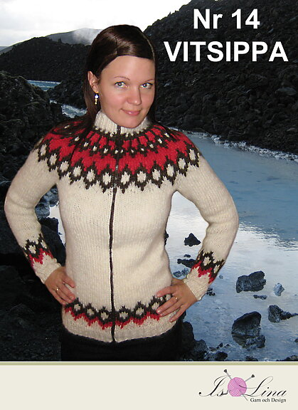 Islina Garn Och Design Islina Yarn And Design Pattern Vitsippa