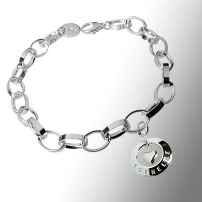 Heart of gold bracelet