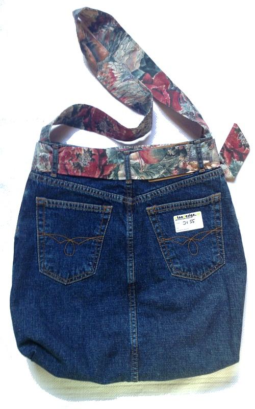 Unique handmade jeans bag - EtnoDesign.se - Unique   Handmade 3f9332cd631c7