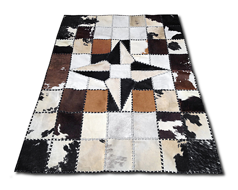 kuhfell patchwork fabulous real toscana shearling blanket throw x inch patchwork beige with. Black Bedroom Furniture Sets. Home Design Ideas