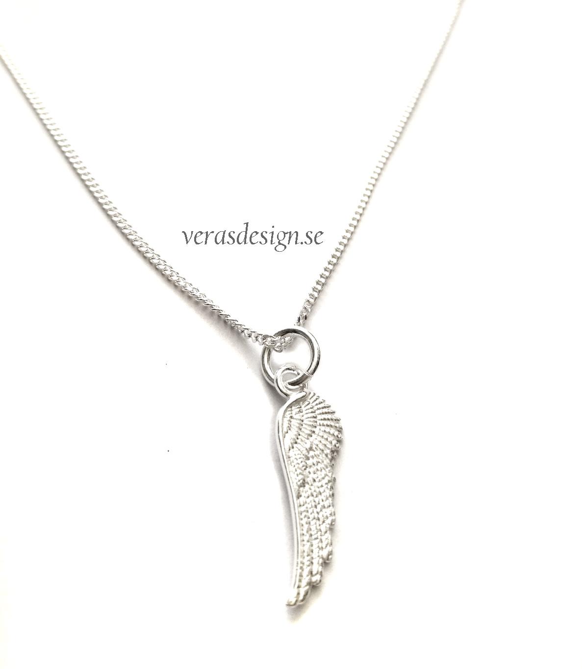 berlock halsband silver