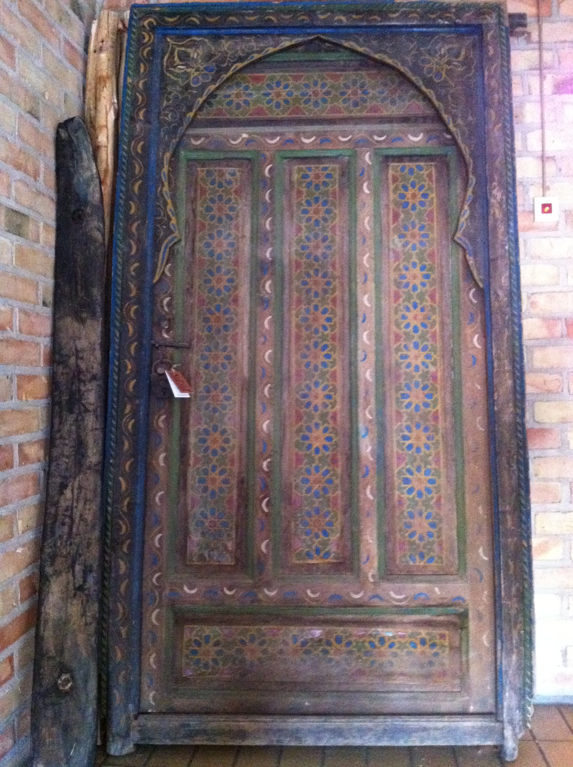 SÅld! dörr antik marockansk portal   sidsid.se
