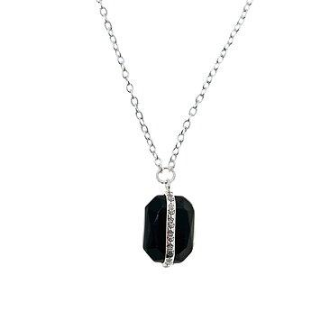 Halsband Kristall Svart - Loveli.se 7029e01d7d9f4