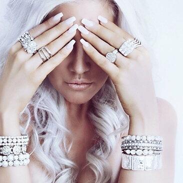 Lilja   Lykke Armband Kristaller - Loveli.se 9fa3297ea62ca