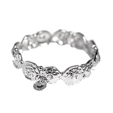 Lilja   Lykke Armband Kristall Silver b84e624e497cc