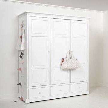garderob med tre d rrar h195 oliver furniture. Black Bedroom Furniture Sets. Home Design Ideas