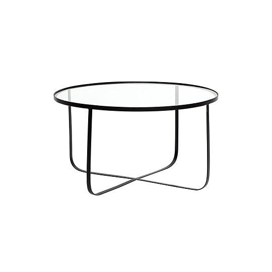 Soffbord HARPER glas  svart 0af63e867f625