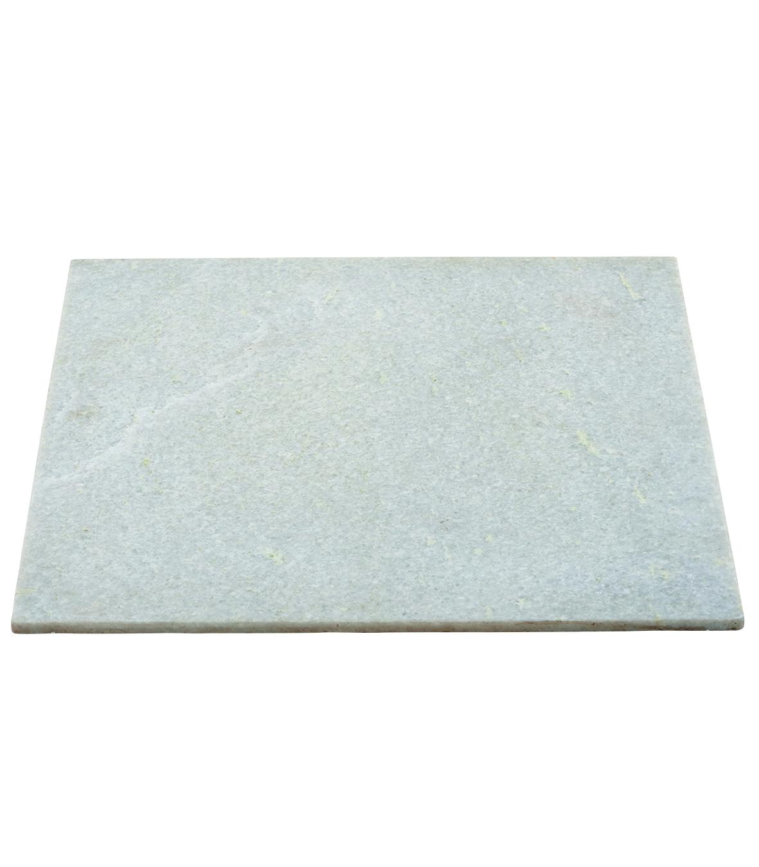 Bordsskiva vit marmor 60×60 cm, House Doctor