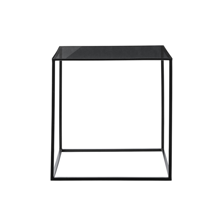 Soffbord CUBE svart glas b1e574134e465
