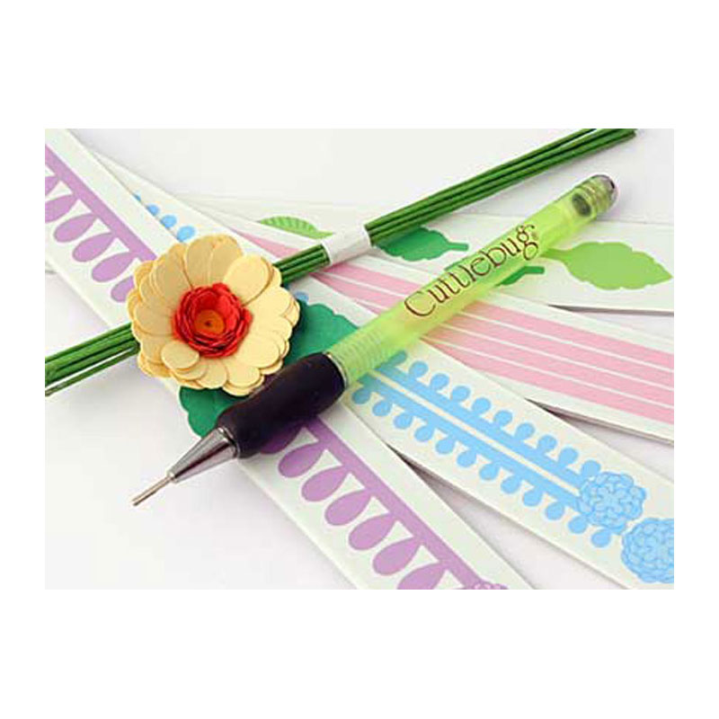 Daisy Cuttlebug Provo Craft Quilling Kit