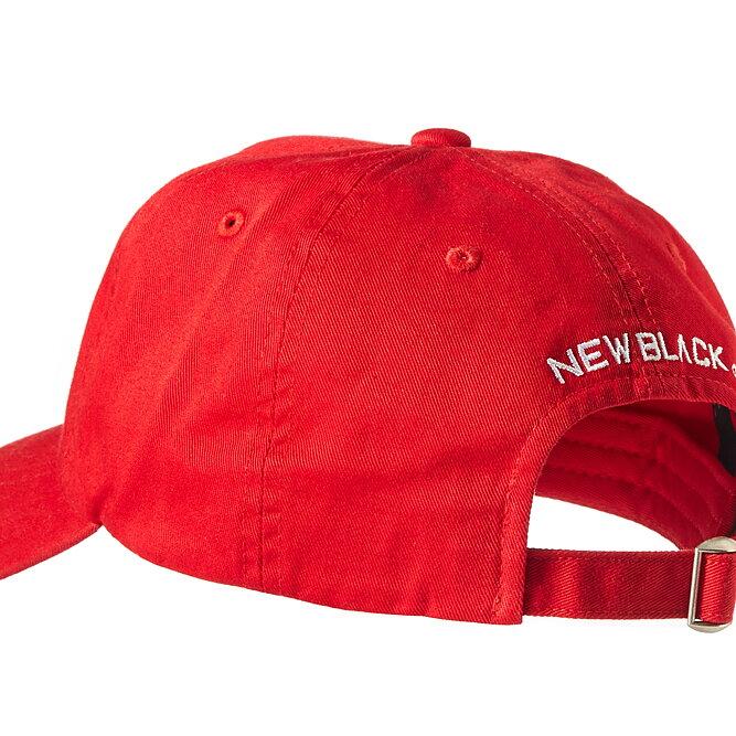 136d3e94f65 New Black - BASEBALL CAP fire red