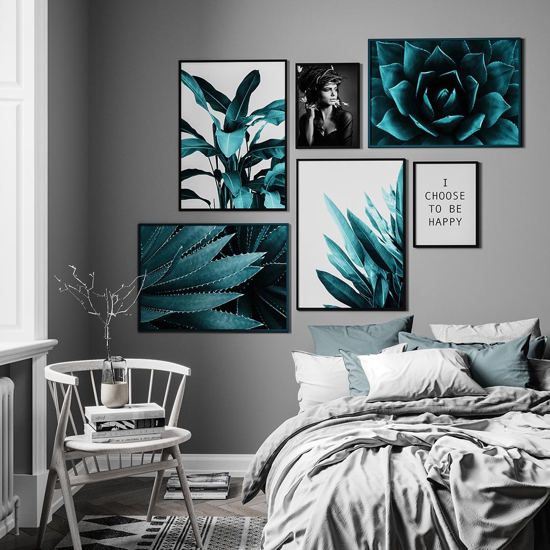 Flott Gallery Wall - Posters | Canvasbutik.com JD-32
