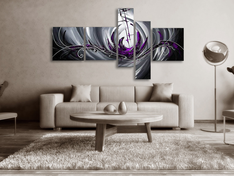 stora tavlor abstrakt