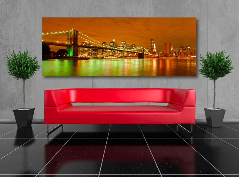 New York Leinwandbild ~ New york gemälde von canvasbutik kunst foto auf leinwand