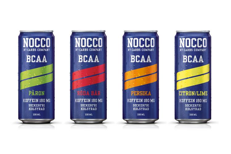 nocco bcaa före eller efter träning
