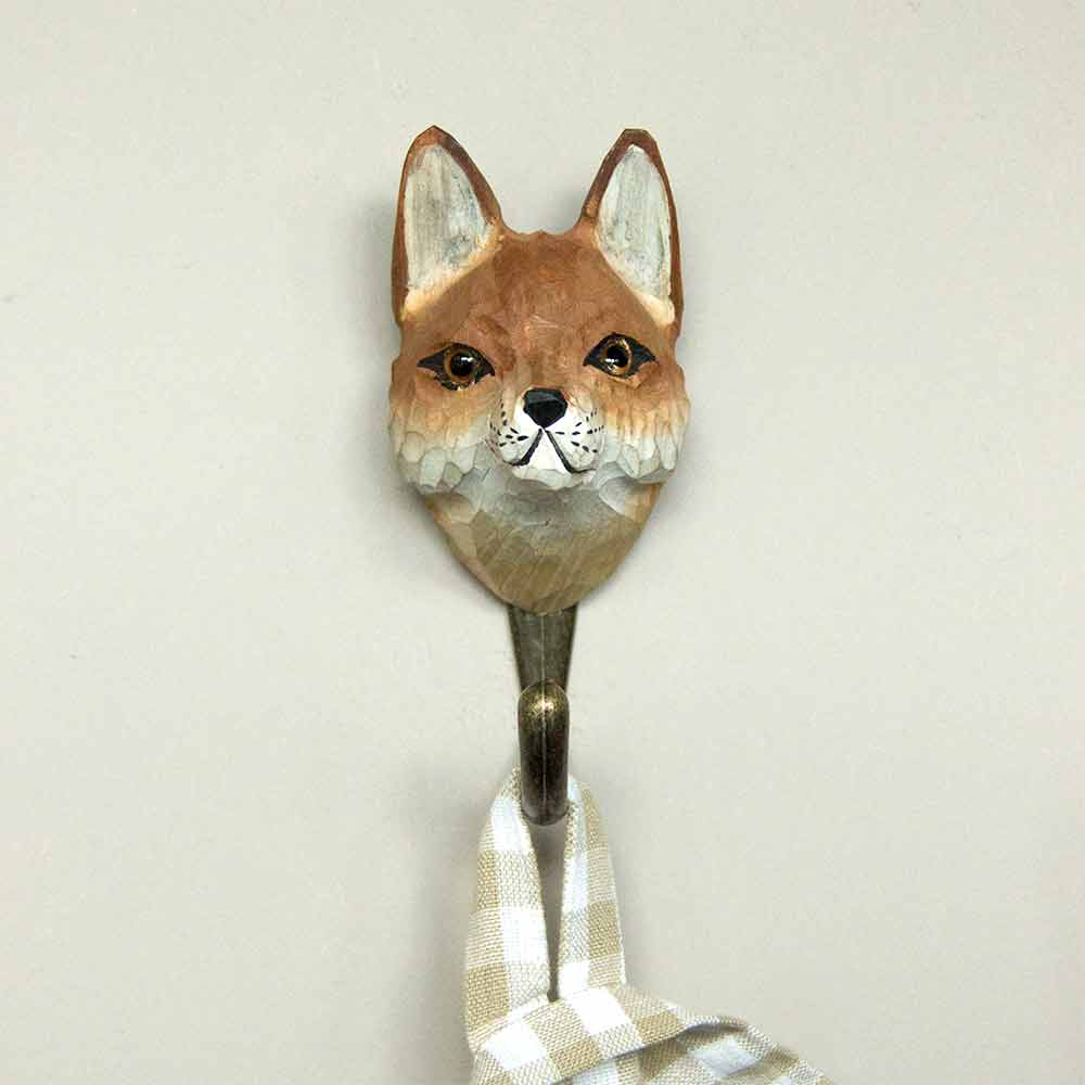 Red Fox naked